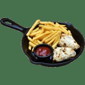 Malai Chicken Tikka+Fries