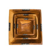 Set of Squared Bowls