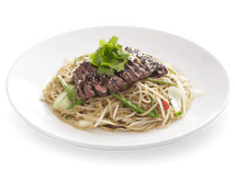 90. Teriyaki Steak Soba