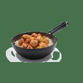 Chicken & rice wok