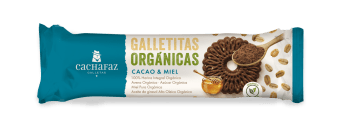 Galletas Orgánicas de Cacao y Miel