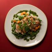 Куряче стегно з припущеними овочами (у четвер) (280г)