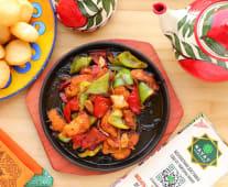 Жаровня с овощами филе рыбы (350г)