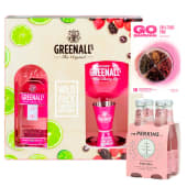 Greenall'S Wild Berry 750 Ml  Pack + Fourpack Mr Perkins Tonic 200 Ml
