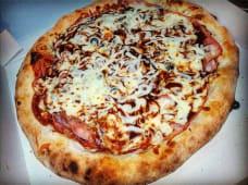 Pizza barbacoa mediana