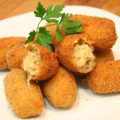 Croquetas de pollo, pescado o jamón (8 uds.)