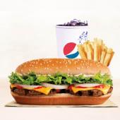 Combo Extra Long Cheeseburger