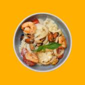 Паста з морепродуктами (330г)