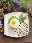 Бифштекс с яйцом (1 шт.)
