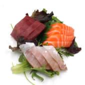 Sashimi Misto (12 Peças)