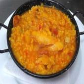 Perol De Arroz Con Bacalao Y Chorizo