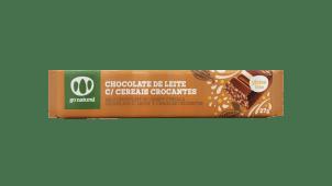 Chocolate de Leite c/ Cereais