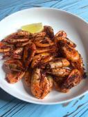 Креветки, смажені в спеціях (200г)