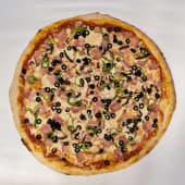 Pizza 4 Estaciones (Familiar)