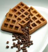 Waffles de café