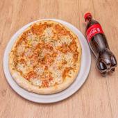 Pizza Al Horno De Piedra 4 Quesos