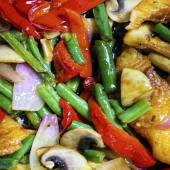 Овочі wok в соусі Теріякі (220г)