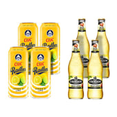 4X Ciuc Radler Lamaie si Lime 1.9% alcool + 4X Strongbow Gold