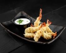 Creveți tempura