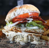 Burger rooster