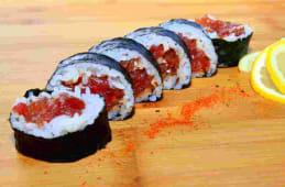 Futomaki Tatar z tuńczyka