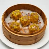#101 Shaomai crujiente relleno de carne y verdura salteada