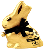 Gold Bunny 100g – Negro 70%