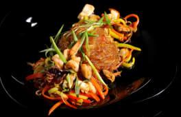Фунчоза з морепродуктами (350г)