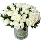 Bouquet Rose bianche Olanda - 11 rose