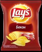 Чіпси Lays з беконом