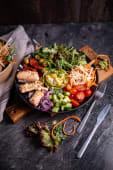 Avocado salmon bowl