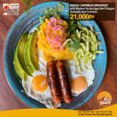 Mangú Caribbean Breakfast
