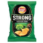 Чіпси Lays Strong з васабі