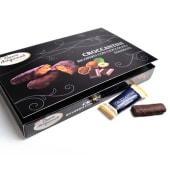 Croccantini alle Nocciole Ricoperti al Cioccolato Fondente gr.175