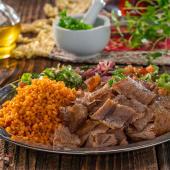 Talerz kebab small 130g