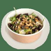 Salată de sfeclă roșie cu rucola si brânză de capră