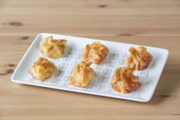 Saquitos crujientes de queso de cabra (6 uds.)