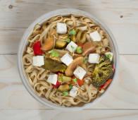 Wok di noodles di riso (100% Gluten free & Vegan friendly)