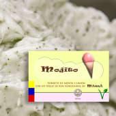 Sorbete de Mojito (500 ml.)