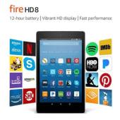 Tableta Amazon fire HD 8 - 16gb quadcore 1.5 gb ram