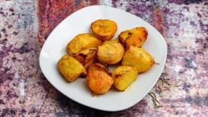 Potato with rosemary