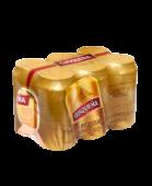 Sixpack Cusquena Dorada Lata 473Ml