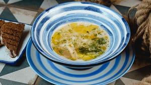Суп з курки і гречаною локшиною (300г)