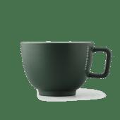 Kubek ceramiczny Latte ciemnozielony 16oz