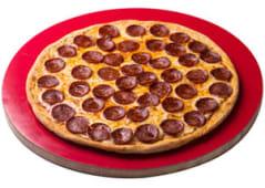 Pizza gigante de peperoni