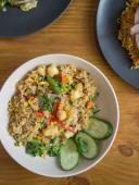 Смажений рис з куркою (350г)