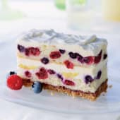 Summer berry stack