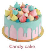 Cake Candy - 8 Personnes