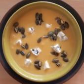 Creme de Abóbora e Gorgonzola