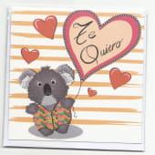 Tarjeta Te Quiero C5002